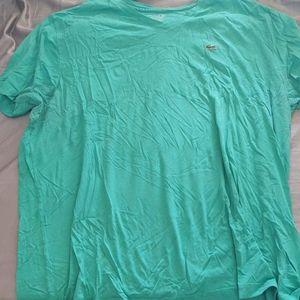 Green Lacoste Shirt